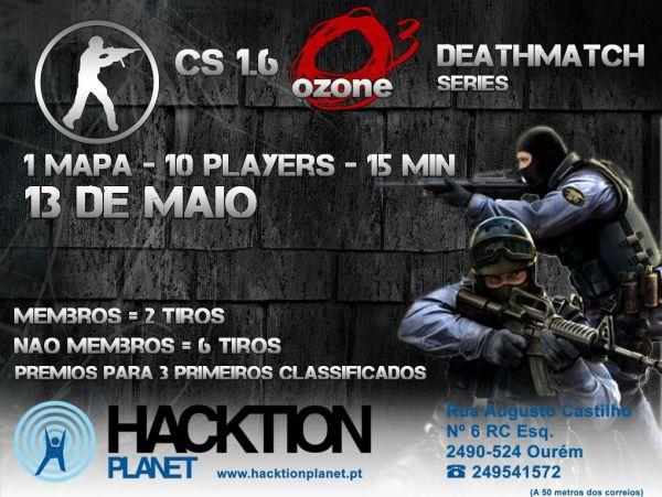 CS 1.6 Ozone Deathmatch Series Poster